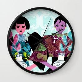 Merry Widows Wall Clock