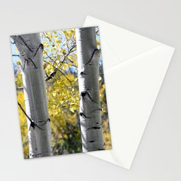 Autumn Trees by Reay of Light Photography Stationery Cards