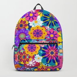 Retro Garden Backpack