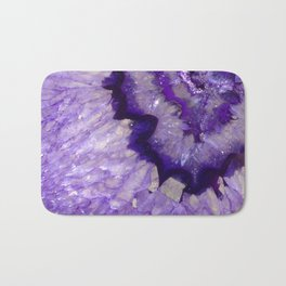 Purple Crystal Badematte