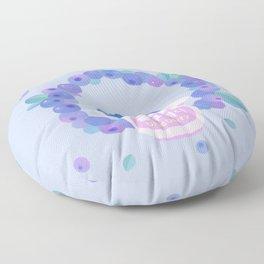 Blueberry poison yogurt 2 Floor Pillow