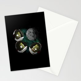 Under The Mun Stationery Cards