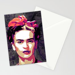 The Face of Frida Stationery Cards