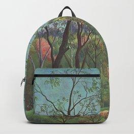 Henri Rousseau - Walk in the Wood Backpack