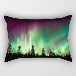 Northern Lights (Aurora Borealis) 10. Rectangular Pillow