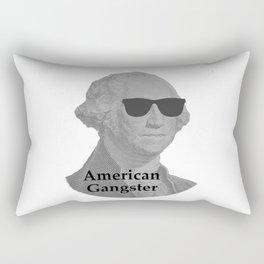 George Washington Cool Sunglasses American Gangster Rectangular Pillow