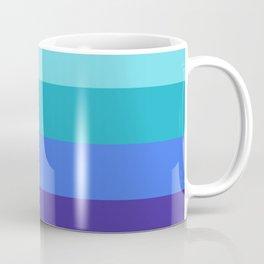 70s Ocean Gradient Coffee Mug