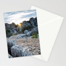 El Torcal Stationery Cards