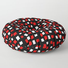 rectangle and abstraction 4-mutlicolor,abstraction,abstract,fun,rectangle,square,rectangled,geometri Floor Pillow