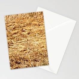 Ein Bett im Kornfeld / a bed in the hay Stationery Cards
