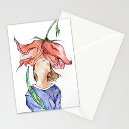 Olor a flor Stationery Cards