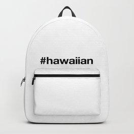 HAWAIIAN Hashtag Backpack