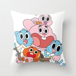 gumball Throw Pillow