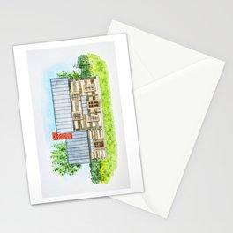 Ohio Log House  Stationery Cards