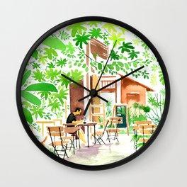 I'm in green. Wall Clock