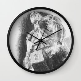 Body Builder Wall Clock