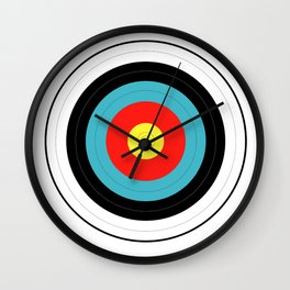 Isolated Target Wall Clock