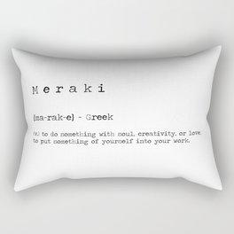 Meraki Definition Rectangular Pillow