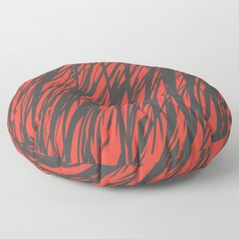 Wild Fire Floor Pillow