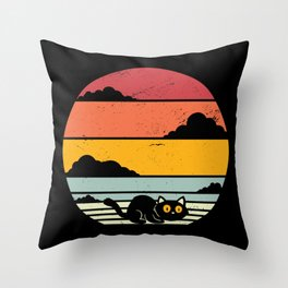 Ask About My Butt Hole Throw Pillow