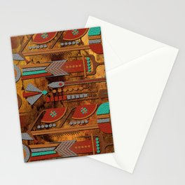 Mohave Native American Art Stationery Cards