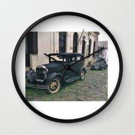 Colonial Stroll Wall Clock