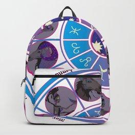 Starlight Zodiac Wheel Backpack