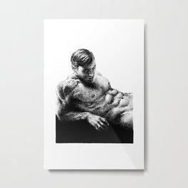 Lucas - Nood Dood Metal Print