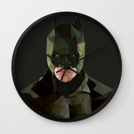 Ominous stance Wall Clock