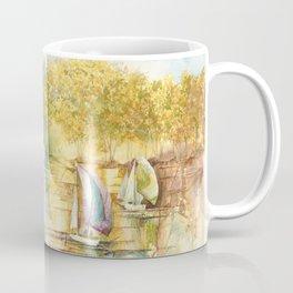 Summer Sailboats Drifting By Coffee Mug