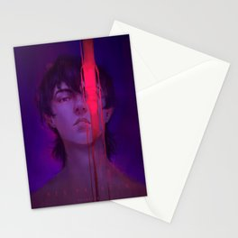 Red Paladin Stationery Cards