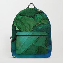 Ocean gold Backpack