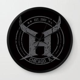 HEMI - H Crest - Grey Wall Clock
