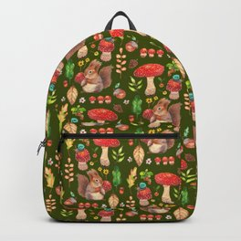 Red mushrooms and friends - GBG Backpack