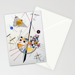Wassily Kandinsky Delicate Tension Stationery Cards