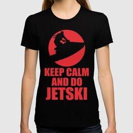 Keep Calm  Jetski T-shirt