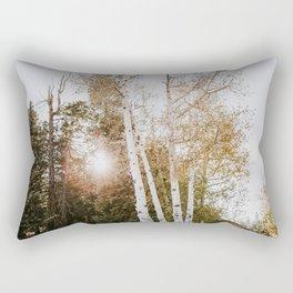 Aspen Tree in Bryce Canyon National Park - Utah Rectangular Pillow