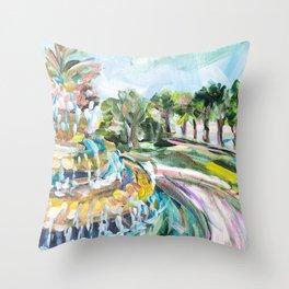 Charleston Pineapple Fountain Deko-Kissen