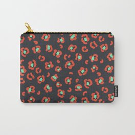 Art leopard red spots pattern Carry-All Pouch
