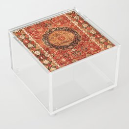 Seley 16th Century Antique Persian Carpet Print Acrylic Box