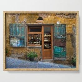 Tuscany Wineshop Serving Tray