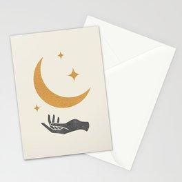 Moonlight Hand Stationery Cards