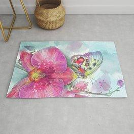 Orchids 03 Rug