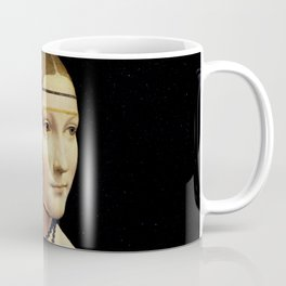 Leonardo da Vinci - The Lady with an Ermine Coffee Mug