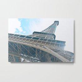 Eiffel Tower in Paris Metal Print