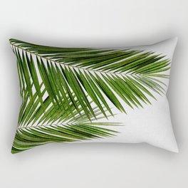 Palm Leaf II Rechteckiges Kissen