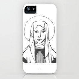 St. Catherine of Siena iPhone Case