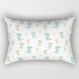 Evolution of a Chicken Pattern Rectangular Pillow