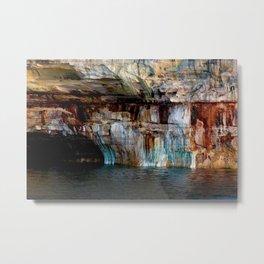 Pictured Rocks National Lakeshore (UP Michigan) Metal Print