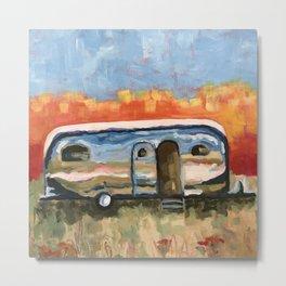 Baja Airstream Metal Print